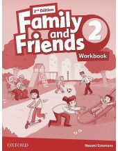 Family and Friends 2nd Edition 2 Workbook  (Ukraine)