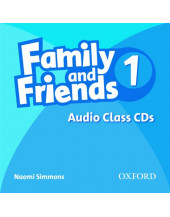 Family and Friends: 1: Class Audio CD (2)