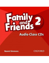 Family and Friends: 2: Class Audio CD (3)