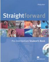 Straightforward Pre-intermediate: Student's Book Pack