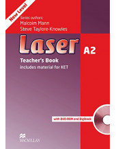 Laser A2: Teacher's Book + DVD-ROM + Digi-book Pack