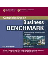 Business Benchmark Pre-Intermediate to Intermediate Audio CDs BEC Preliminary