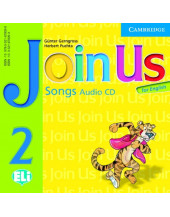 Join Us for English 2 Songs Audio CD