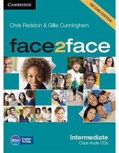 Face2face 2nd Edition Intermediate Class Audio CDs (3)