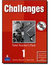 Challenges Total Teachers Pack 1 & Test Master CD-Rom 1 Pack