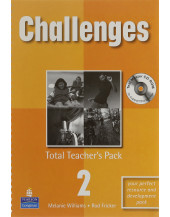 Challenges Total Teachers Pack 2 & Test Master CD-Rom 2 Pack