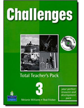 Challenges Total Teachers Pack 3 & Test Master CD-Rom 3 Pack