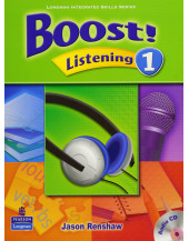 Boost! Listening 1 Student Book with Audio CD