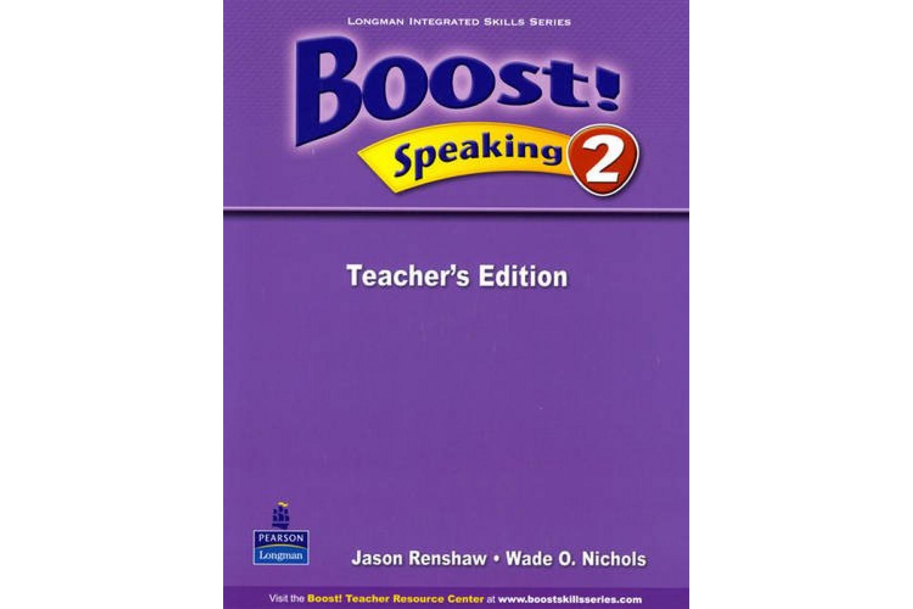Boost! Speaking: Teacher's Book Level 2