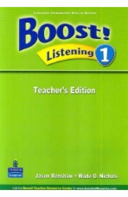 Boost! Listening 1 Teacher's Edition