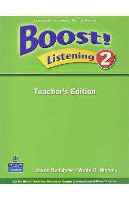 Boost! Listening 2 Teachers Edition