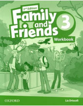 Family and Friends 2nd Edition 3 Worbook