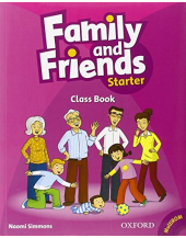 Family and Friends: Starter: Class Book and MultiROM Pack