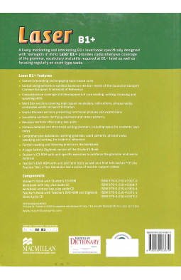 Laser 3rd Edition B1 Plus SB + CD-ROM