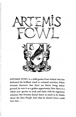Artemis Fowl and the Arctic Incident. Book 2