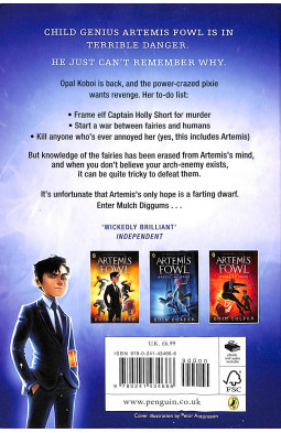 Artemis Fowl and the Opal Deception. Book 4