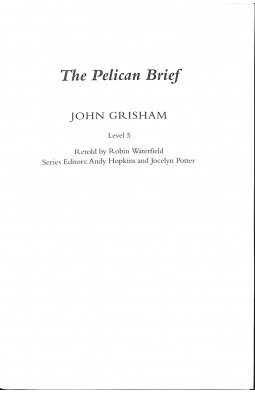 PR 5: The Pelican Brief Book and MP3 Pack