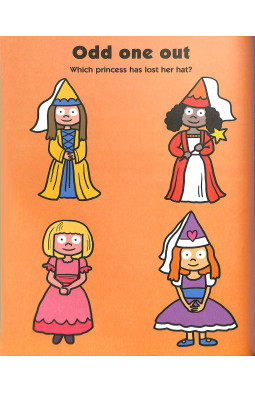Princess Sticker Activity Book (Preschool Sticker Activity Books